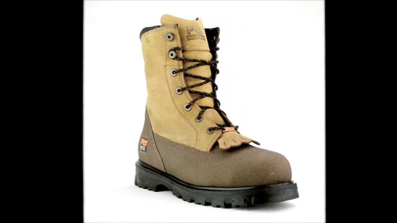 Mens Timberland 88530 Steel Toe Rigger Side Zipper Work Boot ...
