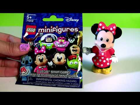 LEGO Disney Pixar Blind Bags Surprises 71012 Maleficent Stitch Pan Hook Little Mermaid Ariel Mickey