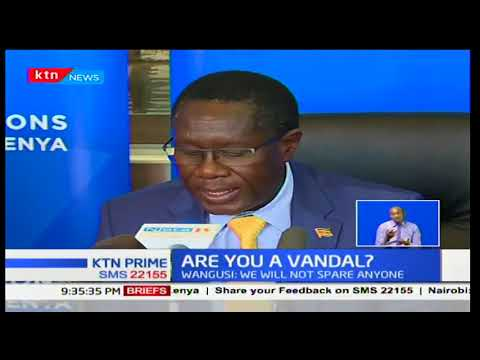Communications Authority calls for awareness of laws governing vandalism