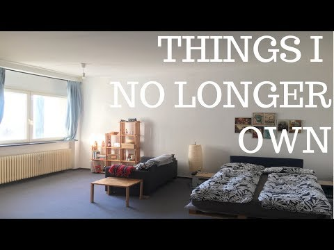 Things I No Longer Own | Minimalism Frugal Living And Money Saving