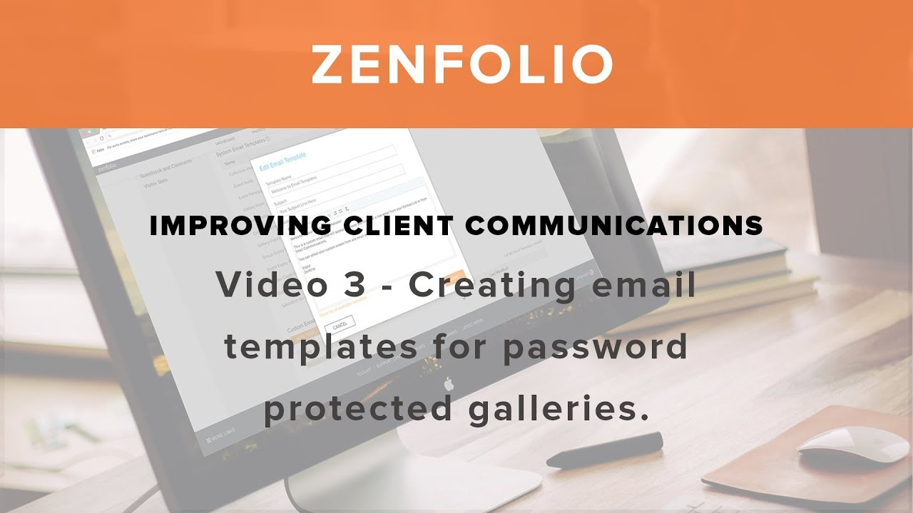 Improving Client Communications Video 3 Creating email templates ...