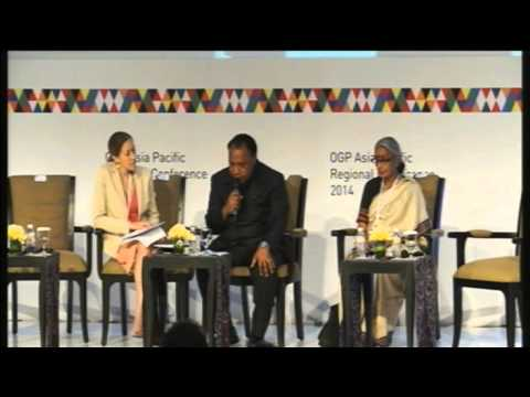 Plenary 3 & Closing - 6 May 2014 - OGP Asia Pacific Regional Conference 2014