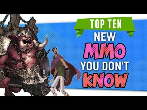 """""""Top Ten New MMO You Don't Know"""" By Skylent 2018"""