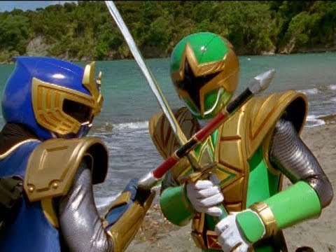 Power Rangers Ninja Storm - Blake vs Cam Battle | Episode 20