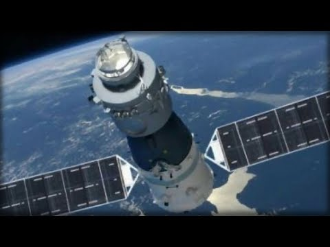 CHINA'S 8.5-TON SPACE STATION IS FALLING TOWARD EARTH AND SCIENTISTS HAVE NO IDEA WHERE IT WILL LAND