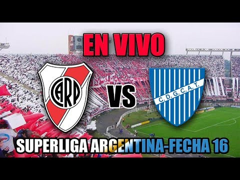 RIVER VS GODOY CRUZ-SUPERLIGA ARGENTINA-FECHA 16[RADIO]