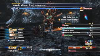 The Last Remnant - The Fallen fight BR 56 3 turns