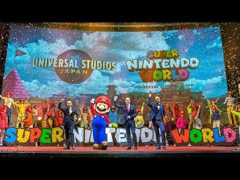 Details Of SUPER NINTENDO WORLD Japan Theme Park Revealed!