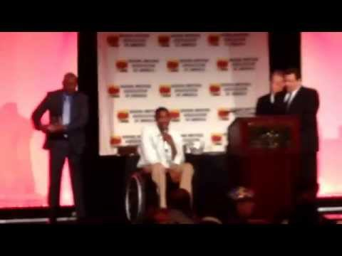 Boxing writers association of America Gala awards -Paul Williams honoured@ Boxingtalk /BoxingShow.TV