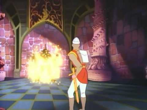 Dragon's Lair (1983 Cinematronics) Start to Finish On Daphne Emulator