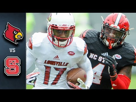 Louisville at North Carolina State 10/5/2017 | College Football