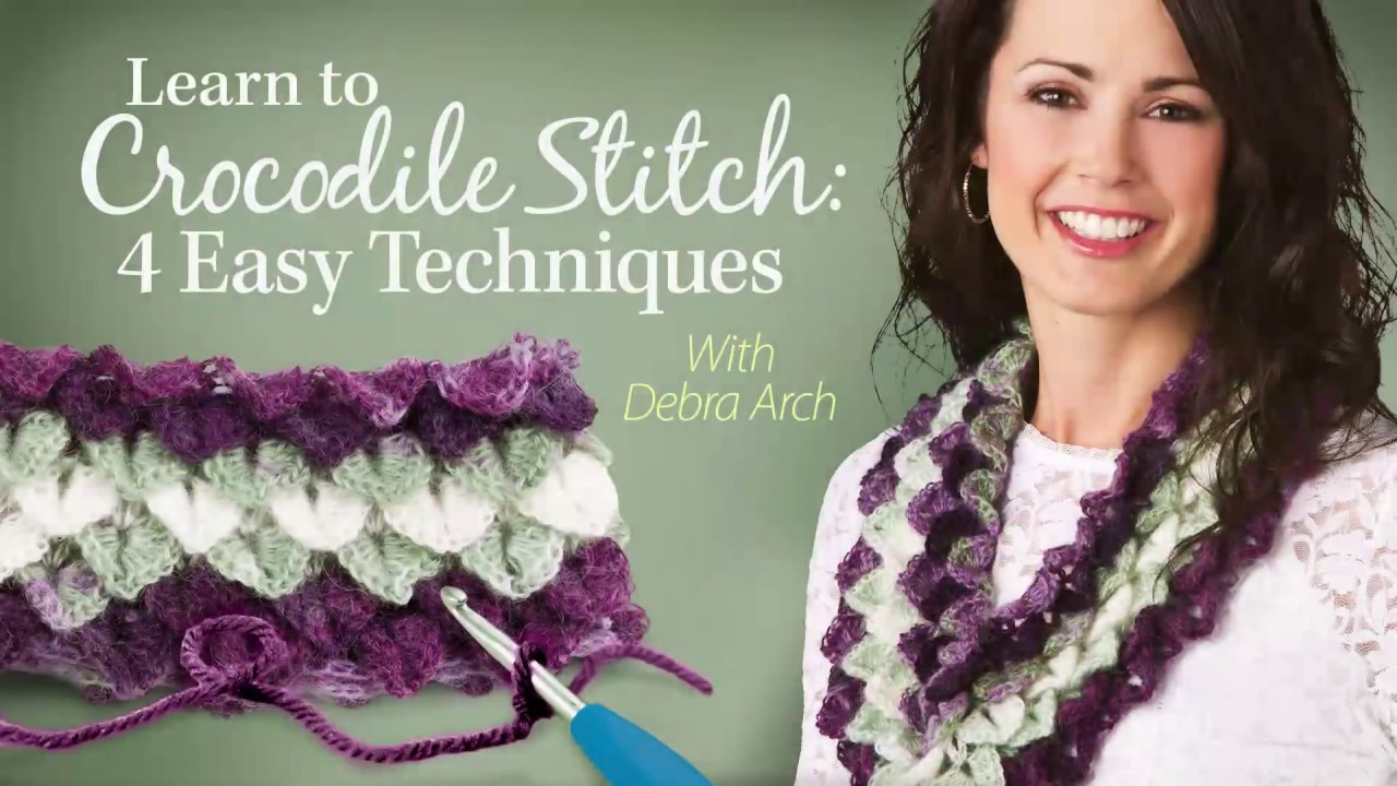 7d49d35326cb Learn to Crocodile Stitch  4 Easy Techniques