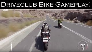 DriveClub Bike Gameplay! | Update 1.23