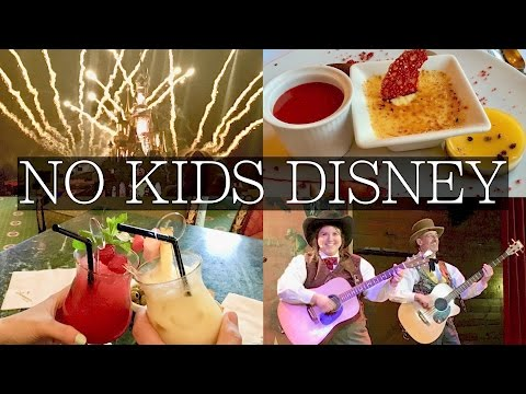No Kids?! Top 5 Things at Disneyland Paris for Adults & Couples!