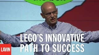 Innovation Speaker David Robertson: LEGO's Innovative Path to Success