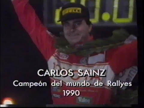 Carlos Sainz: Un Campeón Prudente (VHS, 1990)