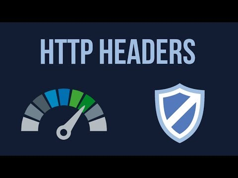 HTTP Headers For Web Performance and Security