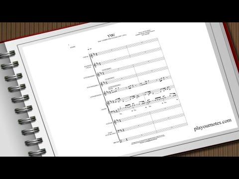 You - Ten Sharp - Sheet Music
