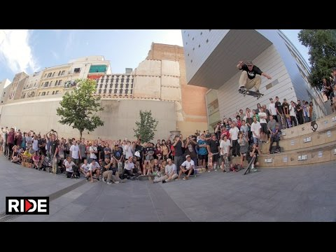Go Skateboarding Day 2016 at Macba - Barcelona