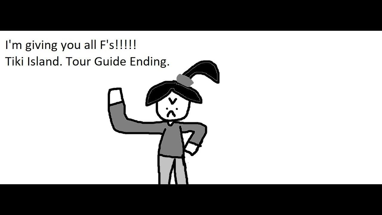 Tiki Island Tour Guide Ending Youtube