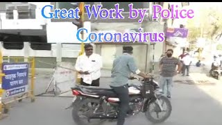 Great Work by Police Coronavirus Covid 19 | Lockdown in india