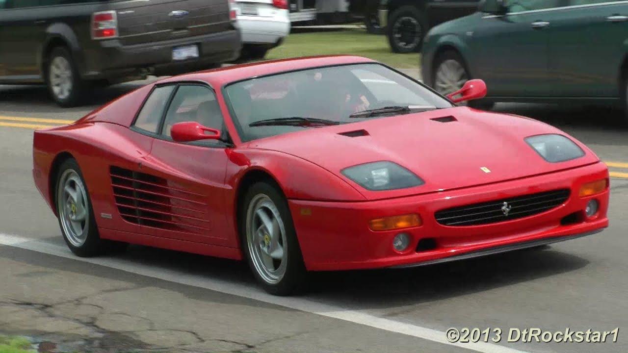 Ferrari 512M Loud Revs (1 of 500 made) - YouTube
