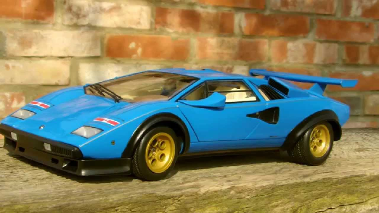 lamborghini walter wolf countach in blau youtube. Black Bedroom Furniture Sets. Home Design Ideas