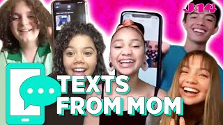 Disney Channel's Upside-down Magic Cast Reads Texts From Mom