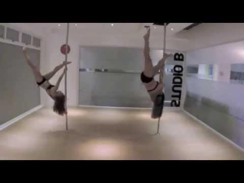 Janina Bagalacsa and Paula Colon (POLE DOLLS) - Professional Doubles Division HKCNPC 2015