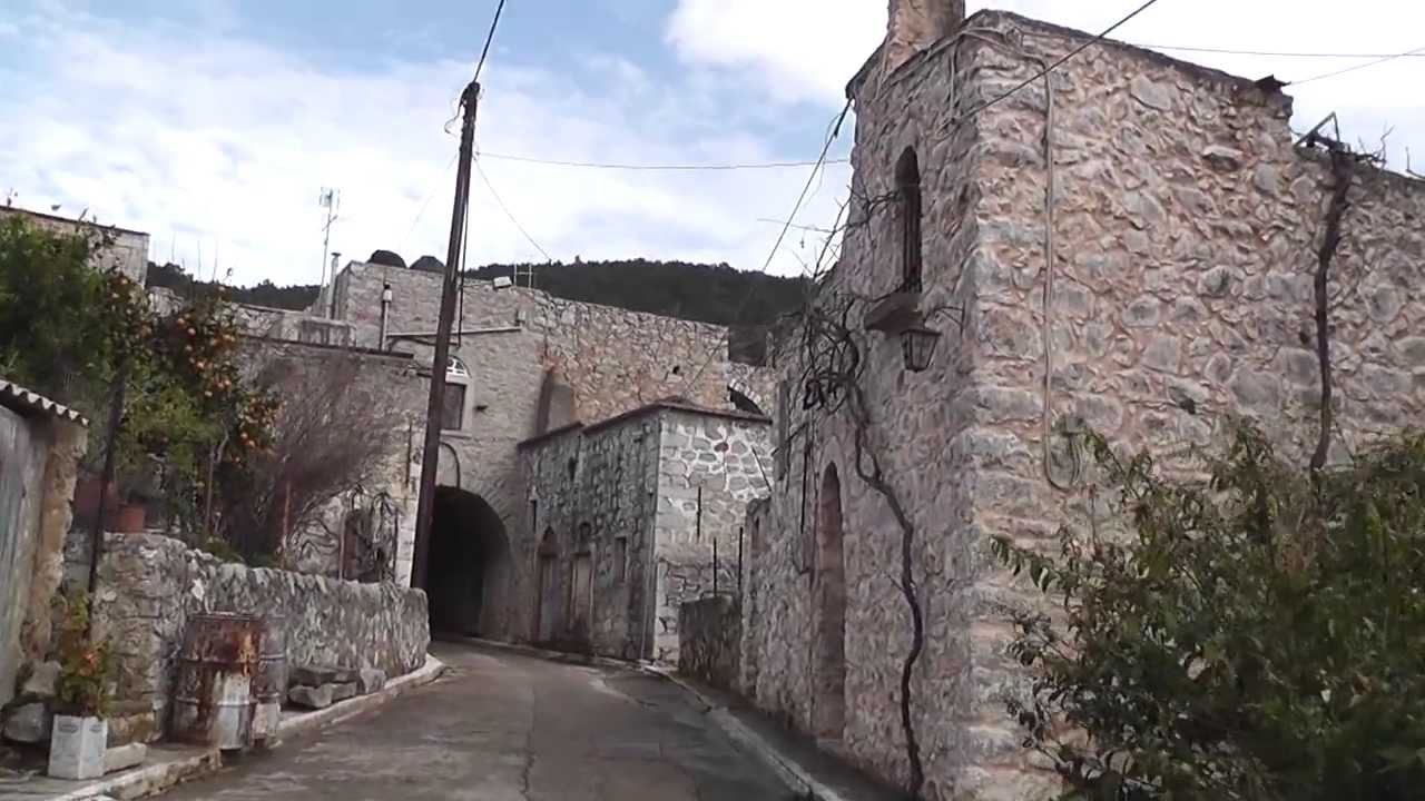 Driving Through The Centuries Old Village Of Vessa Island
