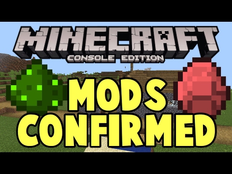 how to get mods on minecraft ps4