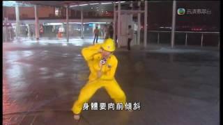 Typhoon Molave No.9 Signal Strike in Hong Kong 香港