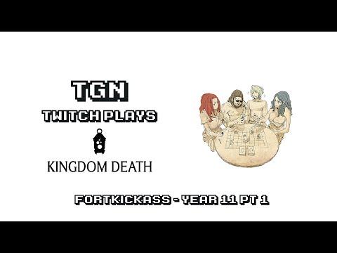 Twitch Plays Kingdom Death - Year 11 Pt 1 (The Hand)