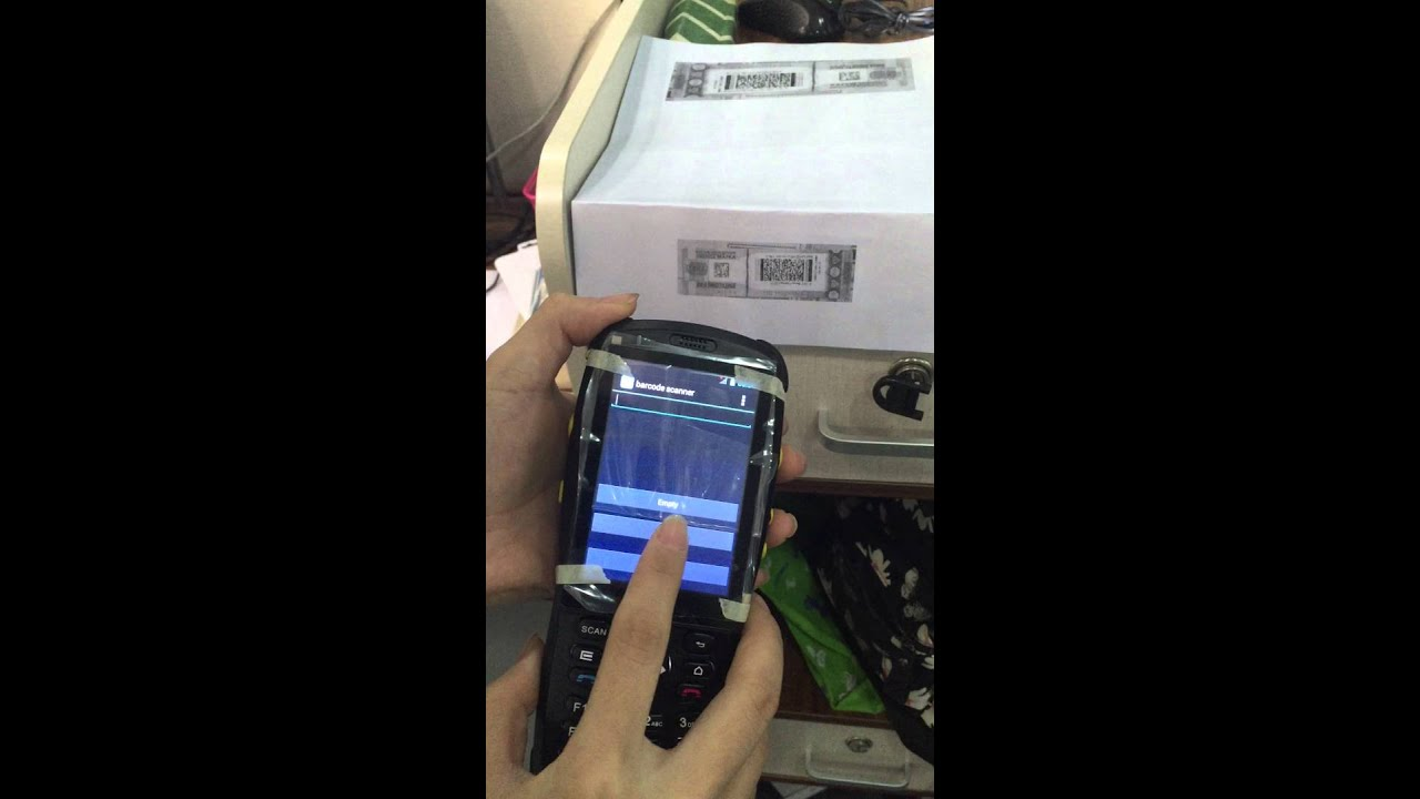 PDA3501 for PDF417 QR code scanner