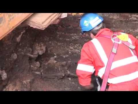 Crossrail Archaeology: Back to Bedlam, August 2013