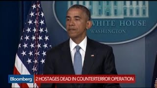 President Obama: Grief and Condolences for Deceased Hostages