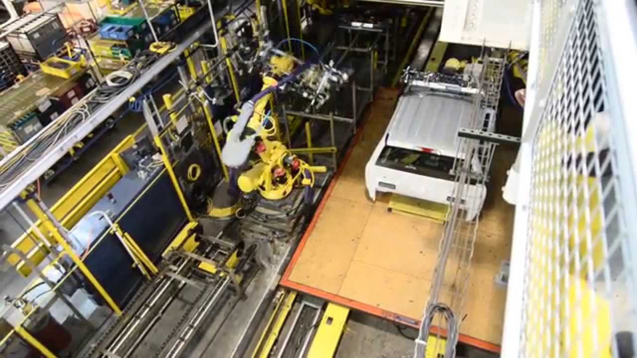 Ford Rouge Plant >> Ford Rouge Factory Tour - YouTube