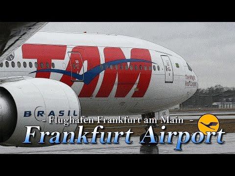 【4K】1Hour Spotting at Frankfurt Airport (FRA)#2 February 8, 2016