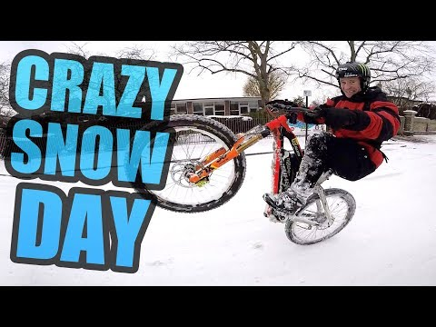 CRAZY SNOW DAY * BEAST FROM THE EAST*