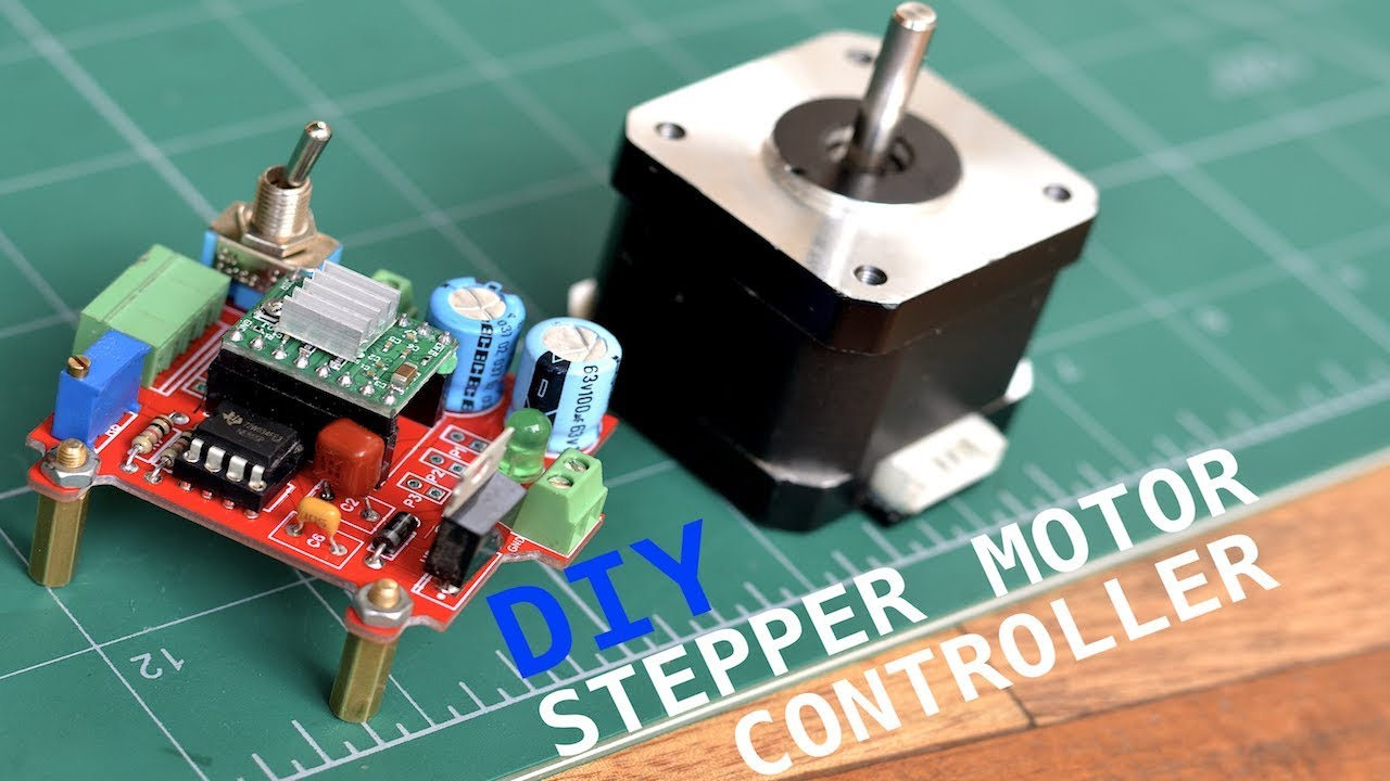 DIY Stepper Motor Controller: 6 Steps (with Pictures)