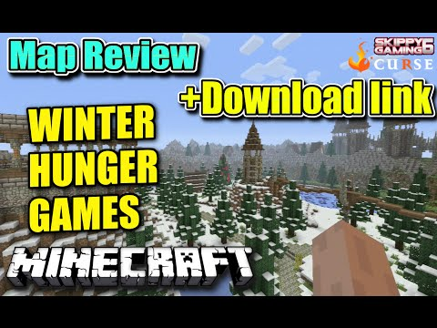 MINECRAFT - PS3 - WINTER HUNGER GAMES MAP REVIEW + DOWNLOAD LINK ( PS4 ) TU19 SERVER UPDATE