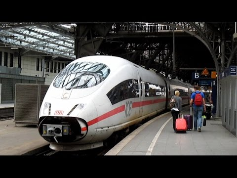Deutsche Bahn ICE 17 (Brussels to Cologne) - August 19th, 2015