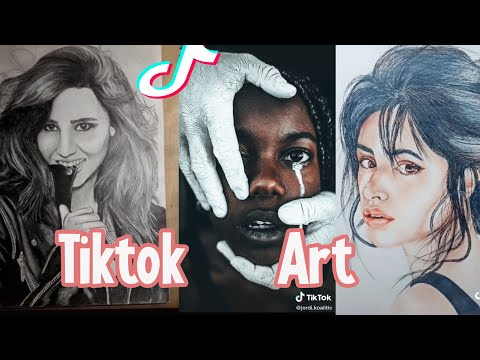 TIKTOK ART COMPILATION #30