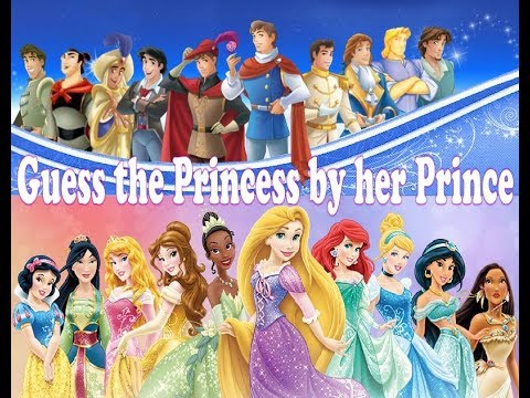 Guess The Disney Princess by her PRINCE QUIZ |Trivia Tv