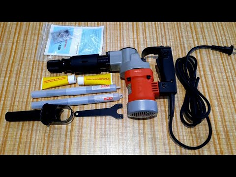 DCK Demolition Hammer || Breaker Machine Unboxing And Testing In India