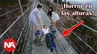 Los Puentes de Cristal Más Terroríficos del Mundo - P1