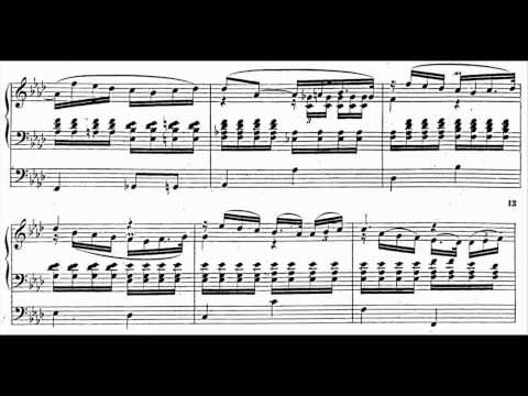 Schumann - Six Studies For Organ Op. 56 No. 4