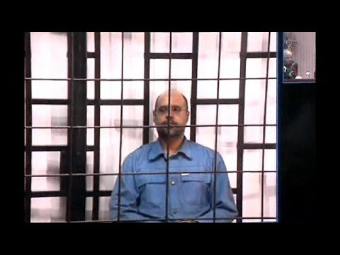 Gaddafi appears before court in Tripoli via videolink on war crime charges