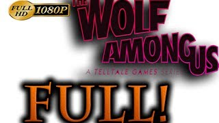 The Wolf Among Us Walkthrough Part 1 [1080p HD] FULL Episode - No Commentary
