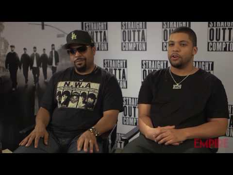 Ice Cube & O'Shea Jackson Jr. interview - Straight Outta Compton